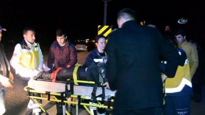 Yolun karşısına geçmeye çalışan genç kıza araç çarptı: 1 yaralı