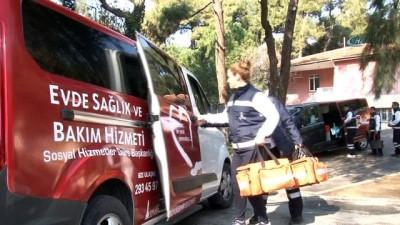 Büyükşehir Belediyesi hasta, yaşlı ve kimsesizleri yalnız bırakmıyor