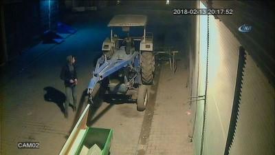 aku hirsizi -  Çalınan aküyü bulmaya çalışırken traktörden oldu...Traktörün aküsünü böyle çalındı