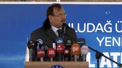 Cumhurbaşkanı Erdoğan'ın talep ettiği külliyenin temeli atıldı
