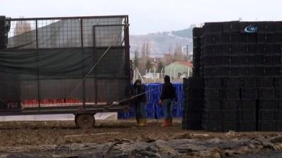 Depo yangını 150 bin liralık zarara yol açtı