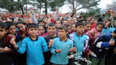 Gaziantep'te 523 öğrenci okul harçlıklarını Afrin'e gönderdi
