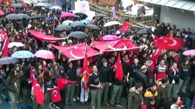 Öğrencilerden Mehmetçik'e destek yürüyüşü - MUĞLA