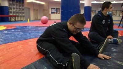 Otizmli ve down sendromlu çocuklara jimnastik eğitimi