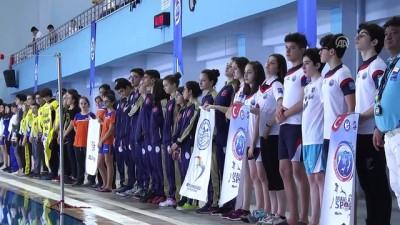 Paletli Yüzme Kulüpler Arası Gençler Türkiye Şampiyonası başladı - ÇORUM