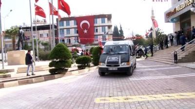Reyhanlı'da Mehmetçiğe destek konvoyu