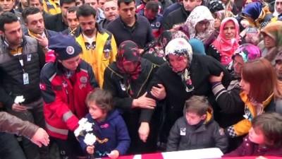 Sınıra giderken kazada hayatını kaybeden sağlık çalışanı uğurlandı