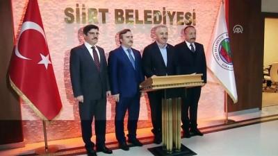 Bakan Arslan: ''Amaç vatandaşa, halka hizmet olunca her zaman her türlü desteği veriyoruz' - SİİRT