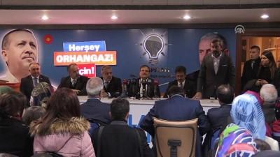 Başbakan Yardımcısı Çavuşoğlu: 'Yükümüz büyük ve ağır' - BURSA