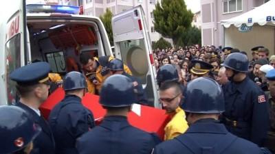 Bursalı şehit yüzbaşının cenazesi son kez baba ocağına getirildi
