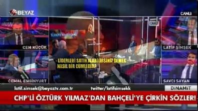 devlet bahceli - Cemal Enginyurt Öztürk Yılmaz'a ağzına geleni söyledi