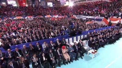 Cumhurbaşkanı Erdoğan: 'AK kadro omuzlarında tarihi bir mesulliyet taşıyor' - ESKİŞEHİR