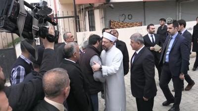 Erbaş, Fatma Avlar'ın ailesine taziye ziyaretinde bulundu - HATAY