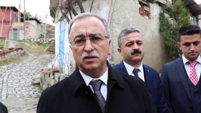 Milletvekili Petek'ten gazi ailesine ziyaret - BURDUR