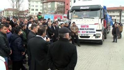 Suriyelilere insani yardım - BARTIN