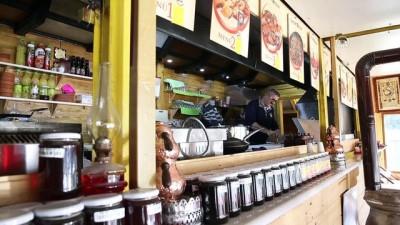 Tıra yapılan restorana Karadeniz usulü yer çözümü - TRABZON