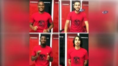 spor musabakasi - Yabancı futbolcular, Gaziantep şivesi ile taraftarları maça davet etti