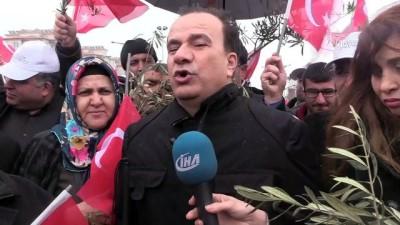 Zeytin Dalı Harekatı'na destek - KİLİS