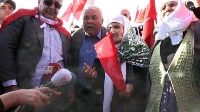 Asırlık nineden Zeytin Dalı Harekatı'na destek - KİLİS