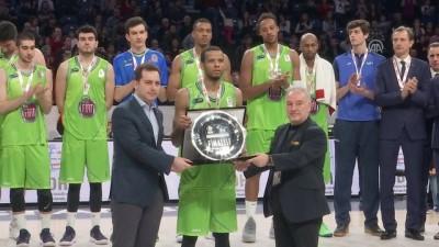 Basketbolda Türkiye Kupası'nın sahibi Anadolu Efes - İSTANBUL
