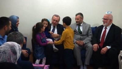 Cumhurbaşkanı Erdoğan 15 Temmuz gazisini ziyaret etti