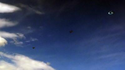 Darmık ve Burseya Dağı çevresinde askeri helikopter hareketlliği