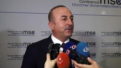 Dışişleri Bakanı Çavuşoğlu: 'Biz kimyasal silaha da nükleer silaha da karşıyız' - MÜNİH