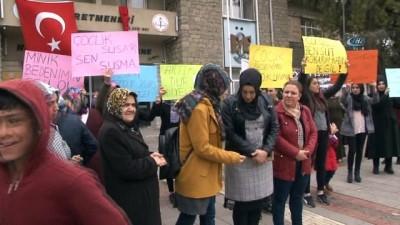 Elazığlı kadınlardan çocuk istismarına tepki