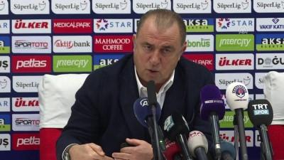 Fatih Terim: 'Galatasaray takımının hocasıysanız umutsuzluğa kapılamazsınız' - İSTANBUL