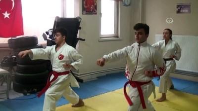 Genç karatecinin hayali olimpiyat şampiyonluğu - AFYONKARAHİSAR