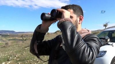 Havaya uçurulan terörist başı Öcalan'ın Darmık Dağındaki sözde anıtı