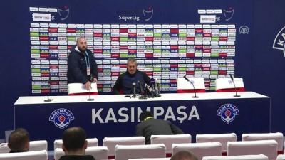 Kasımpaşa-Galatasaray maçının ardından - Teknik Direktör Kemal Özdeş - İSTANBUL