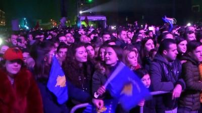 Kosova'nın bağımsızlığının 10. yılı etkinlikleri - PRİŞTİNE Video