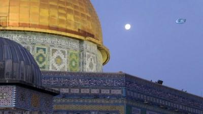 - Kudüs'te dolunay manzarası mest etti