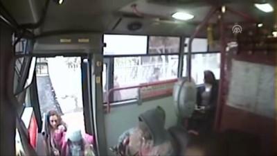 Midibüsteki hırsızlık güvenlik kamerasında - ADANA