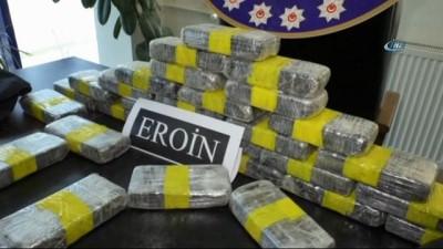 Tokat'ta 3 Milyon TL'lik eroin ile yakalanan 2 şahıs tutuklandı