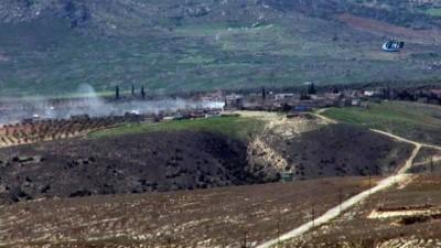 Uçaklar havadan, ÇNR ve obüsler karadan bomba yağdırdı