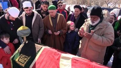 'Amerika Cerrahi Dergahı Şeyhi' Bayraktaroğlu için cenaze töreni - NEW YORK