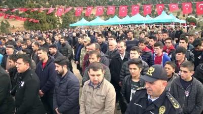 Askeri aracın dereye devrilmesi - Şehit Er Cuma Ali Akçal'ın cenazesi - KAHRAMANMARAŞ