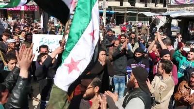 Doğu Guta kuşatması protesto edildi - İDLİB