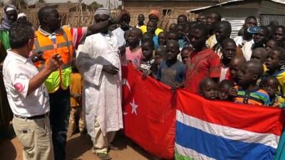- Gambiya'dan Türk bağışçıların yardımlarına sıcak teşekkür