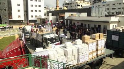 Katar'dan Gazze'ye 9 milyon dolarlık yardım - GAZZE