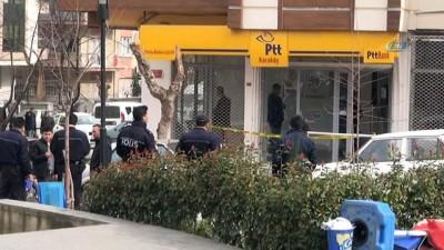PTT şubesine maskeli soygun