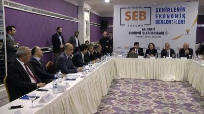 'Şehirlerin Ekonomik Beklentileri Forumu' - SAKARYA