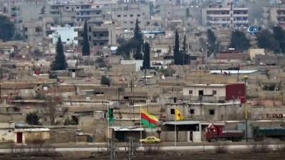 YPG'liler sınır hattındaki binaları boşalttı