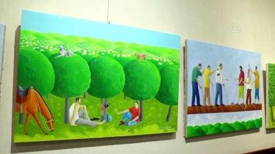 Yunus Emre Enstitüsünden Azerbaycan'da resim sergisi - BAKÜ