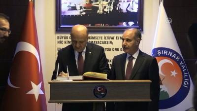 Başbakan Yardımcısı Işık, esnaf ziyaretlerinde bulundu, vatandaşlarla sohbet etti - ŞIRNAK
