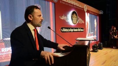 DPÜ'den 'Kütahya'ya Değer Katanlar' ödül töreni - KÜTAHYA