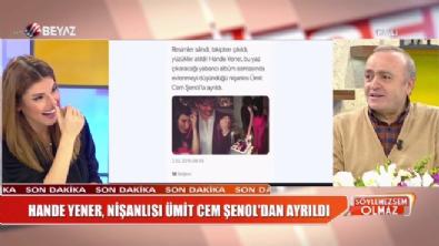 Hande Yener-Ümit Cem Şenol aşkı bitti! Hande Yener nişan attı