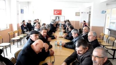 Köy muhtarları ve meclisi üyeleri gönüllü askerlik için başvuru yaptı
